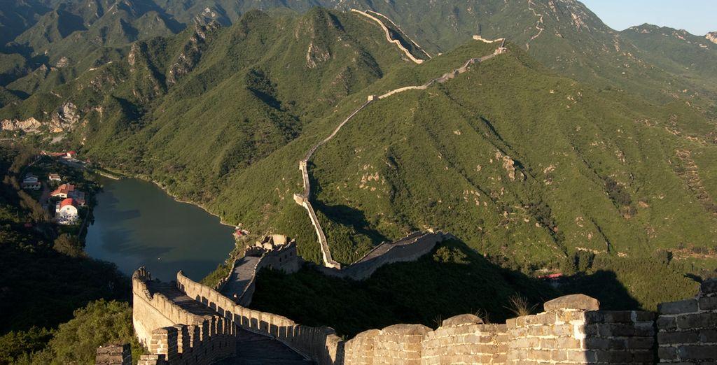 La única obra visible desde el espacio: La Gran Muralla