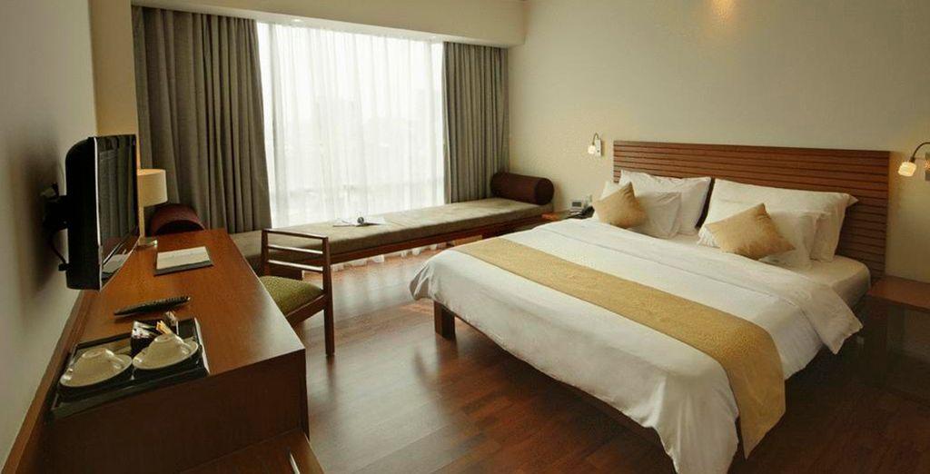 Amplias habitaciones del Alila Jakarta 4*