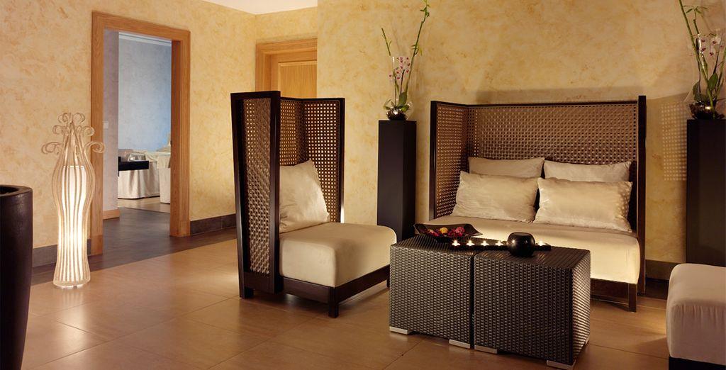 Amplias habitaciones para su descanso