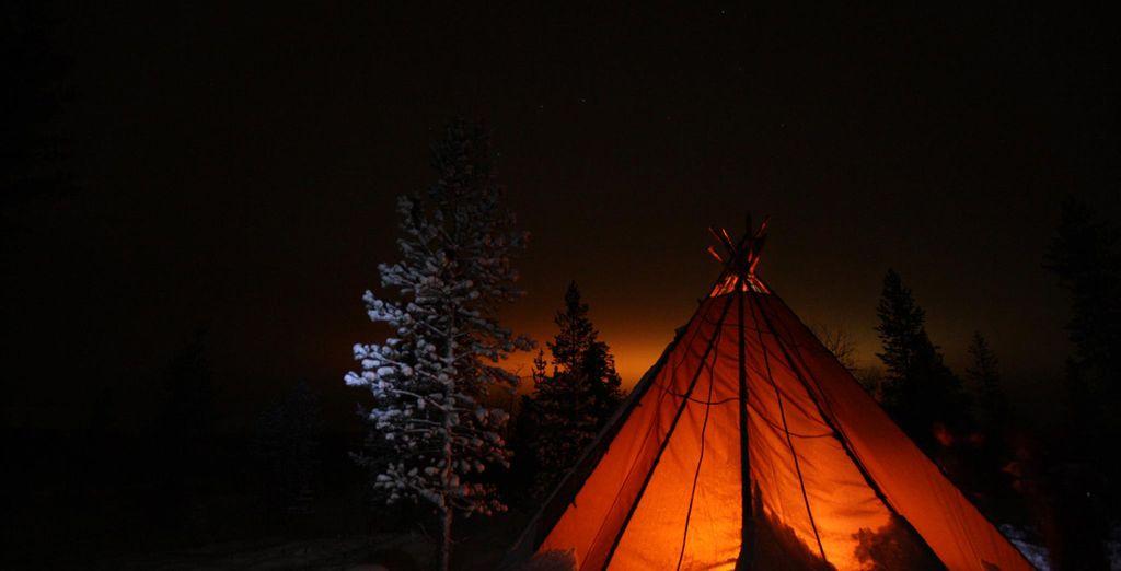 Realizará una salida nocturna al Campamento Aurora