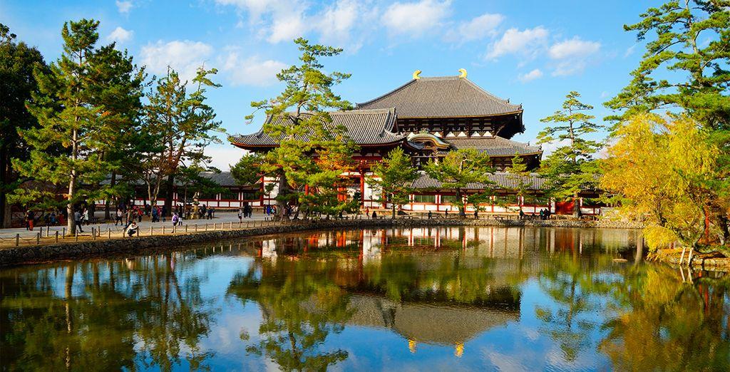 Visita del Templo budista Todaiji en Nara