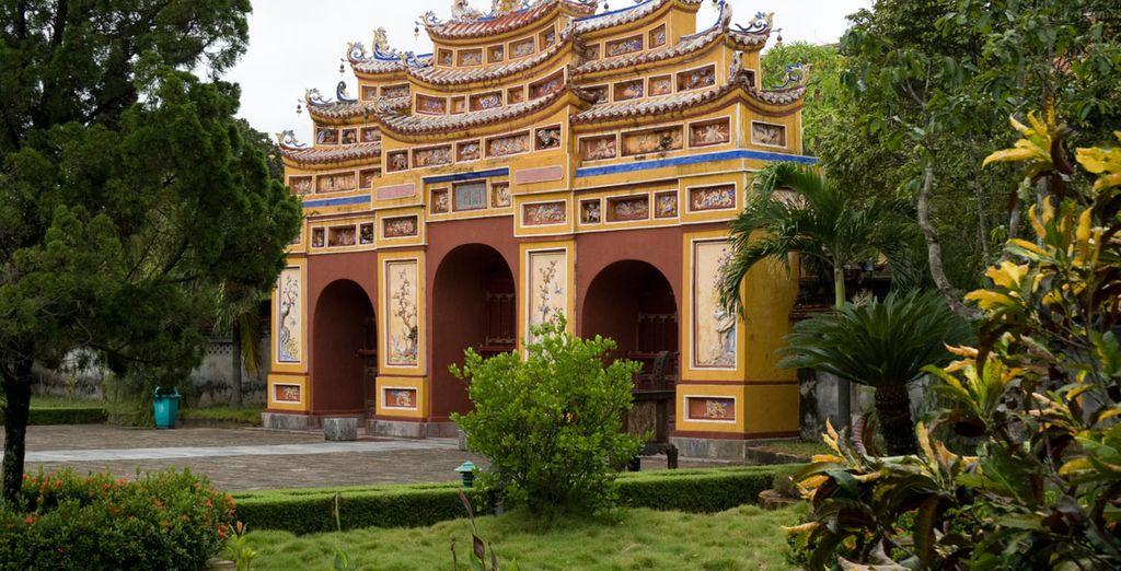 Hue, una bonita ciudad histórica