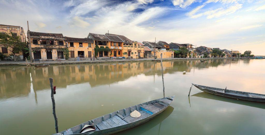 Hoi An, una ciudad que le transportará el pasado
