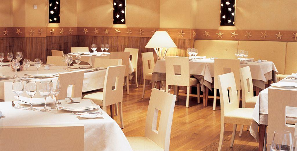 En el restaurante Khala podrá degustar lo mejor de la cocina internacional y mediterránea