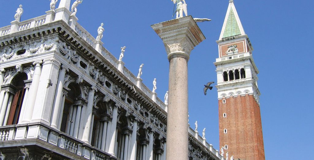 La Piazza San Marco, símbolo de la ciudad
