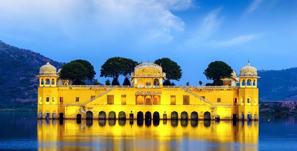 Jaipur es la prístina joya en las arenas del desierto de Rajasthan