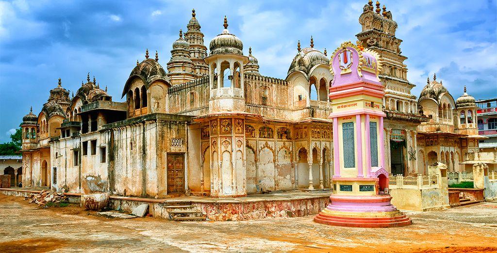 En Pushkar visitará el templo dedicado al dios Brama de la mitología hindú