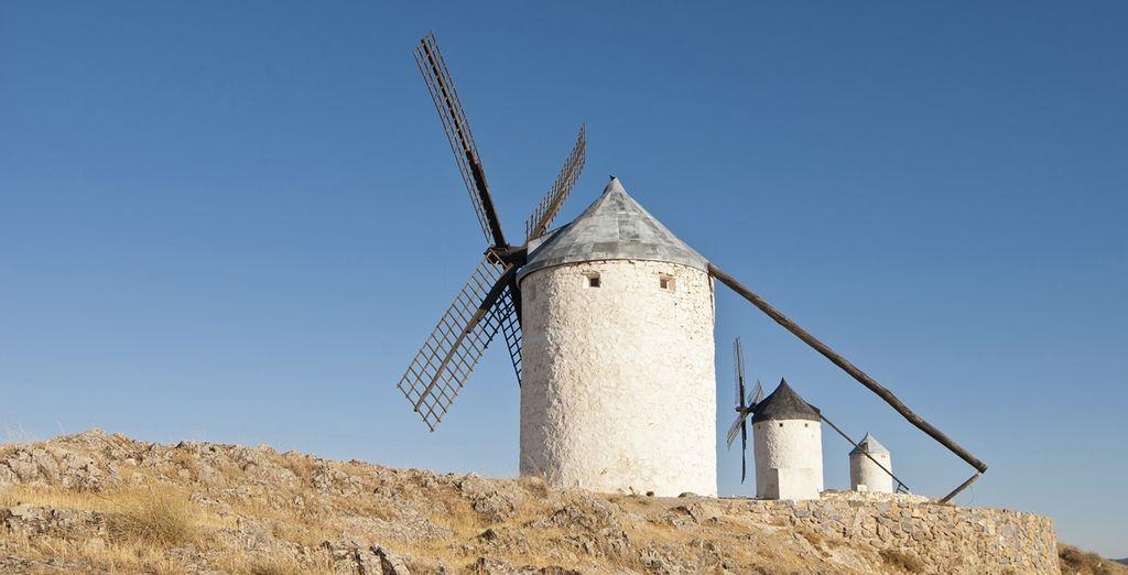 La tierra de los molinos de viento