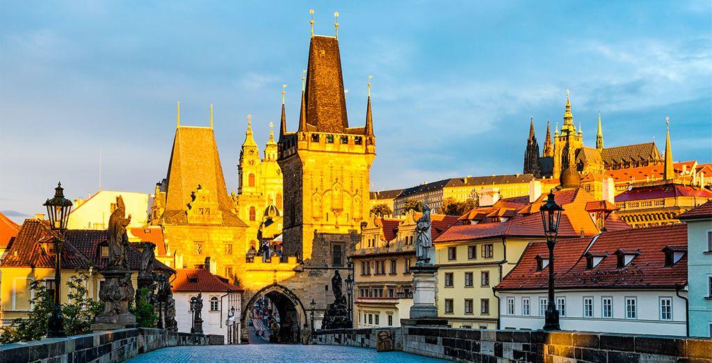 Su mezcla de cultura checa, alemana y judía le otorga una atmósfera única