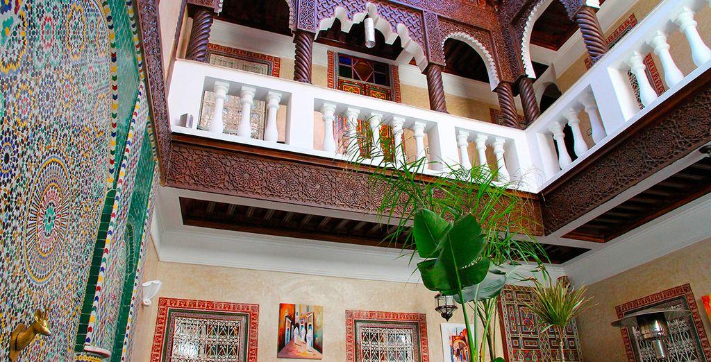 Bienvenido al Riad l'Escale de Marrakech