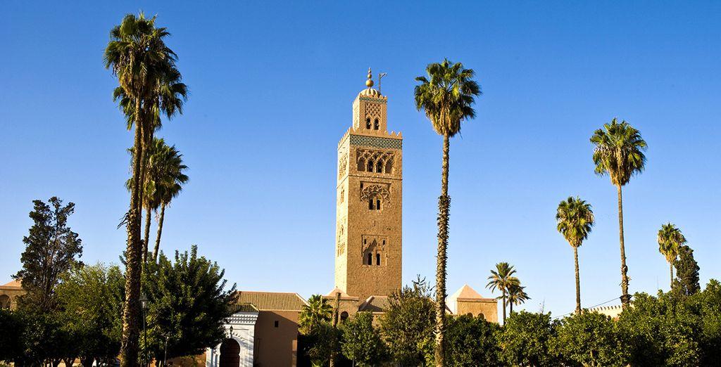 Visite y contemple la arquitectura marroquí
