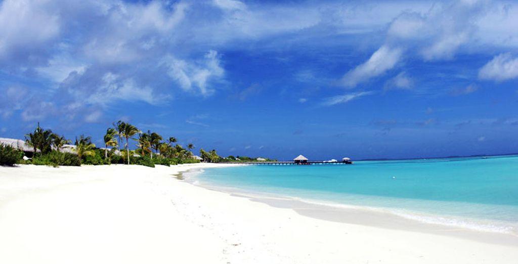 Infinitas playas de arena blanca y aguas cristalinas