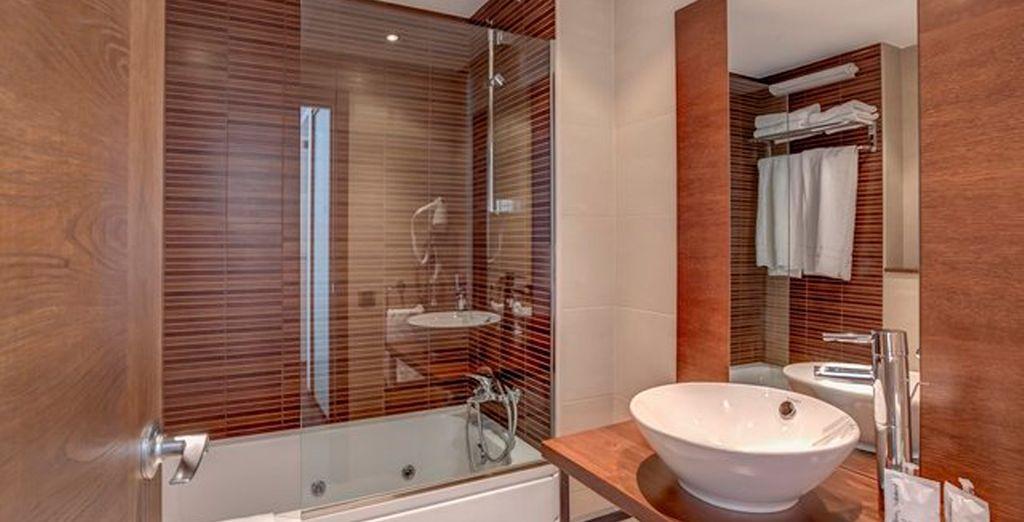 Grandes baños para una estancia relajante