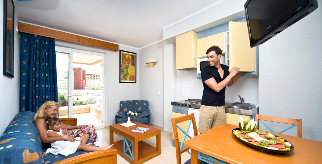 Cómodos y modernos apartamentos