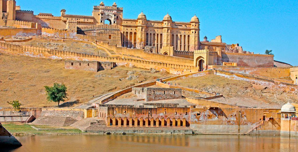 Fortaleza de Amber llevada a cabo por los reyes mongoles