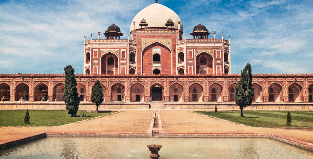 Le encantará la peculiar arquitectura de Delhi