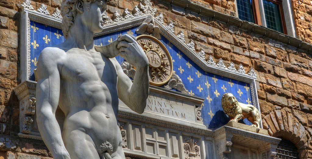 El arte inunda las calles de Florencia