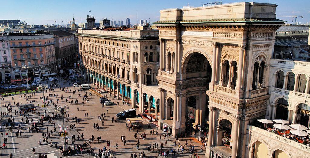 Finalmente, visitará la ciudad de Milán, en la plana de Lombardia