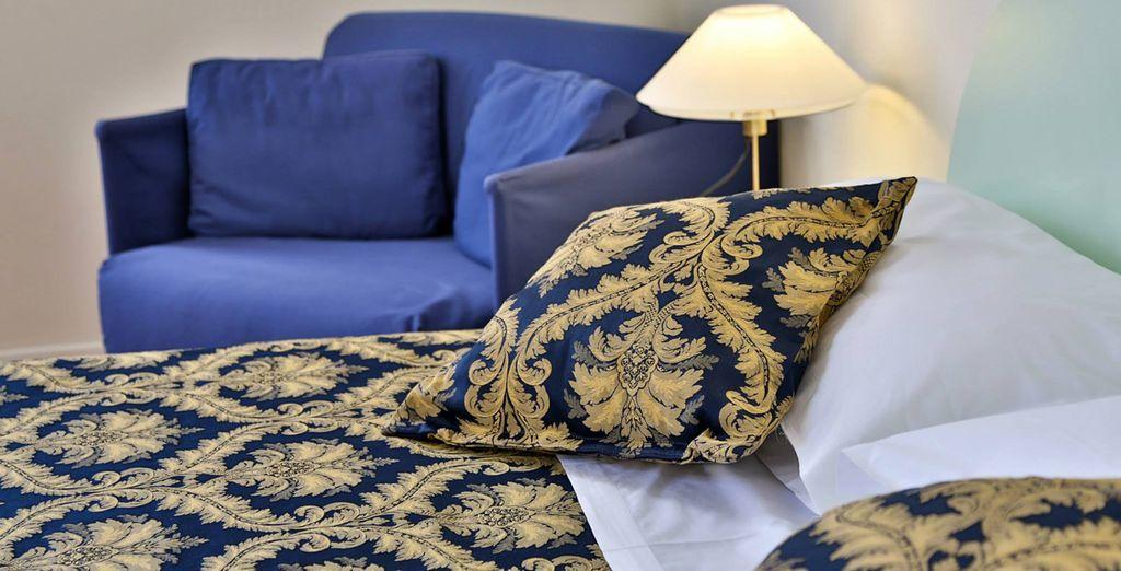 Habitaciones clásicas y elegantes