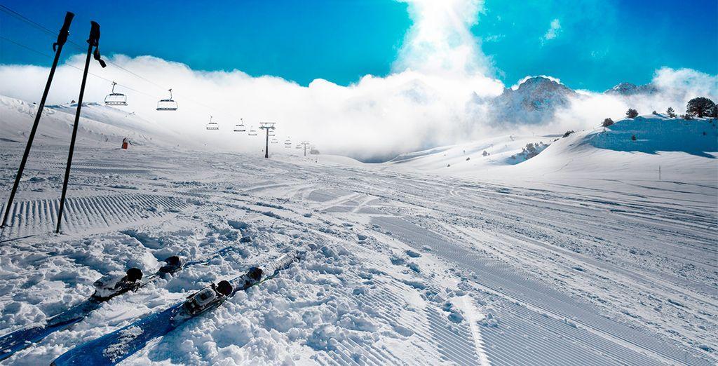 Un verdadero paraíso para los amantes del esquí y la montaña
