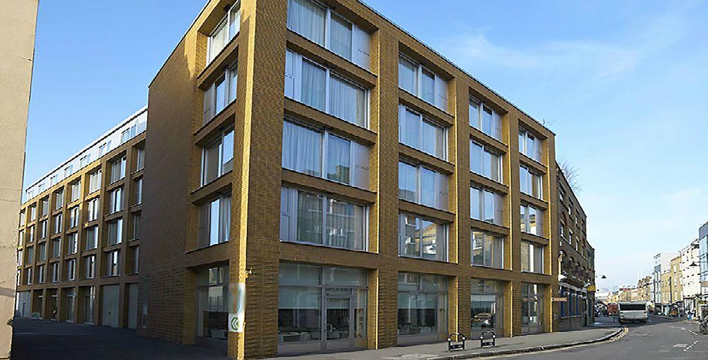 Estos apartamentos, elegantes y modernos, se encuentran a 1 km de la estación London Bridge