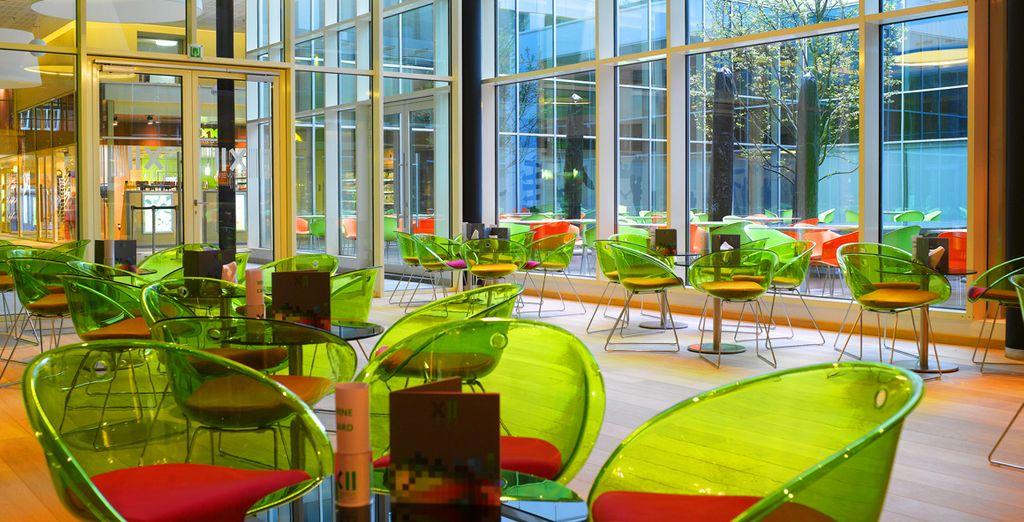 Un hotel ecológico y moderno