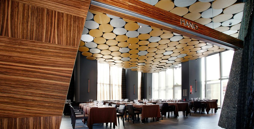 Deguste una rica gastronomía en el Restaurante Piano...