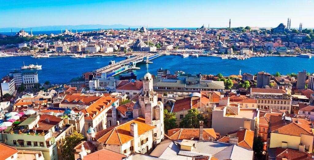 Aterrizará en la ciudad de los sultanes, Estambul