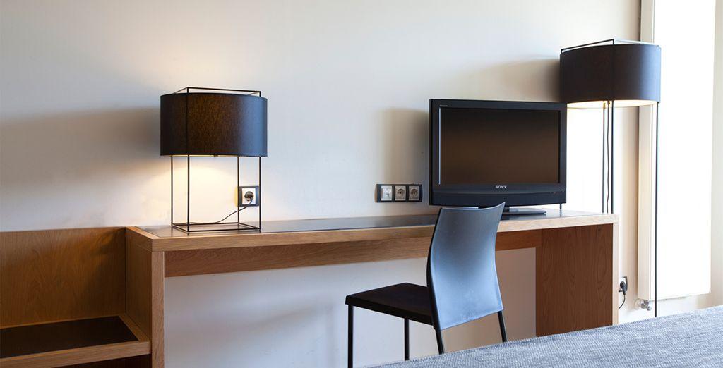 Amplias habitaciones para su máximo confort