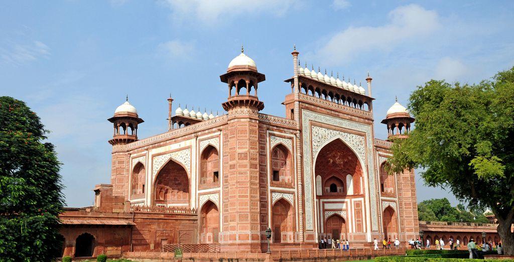 Agra es una ciudad única y maravillosa