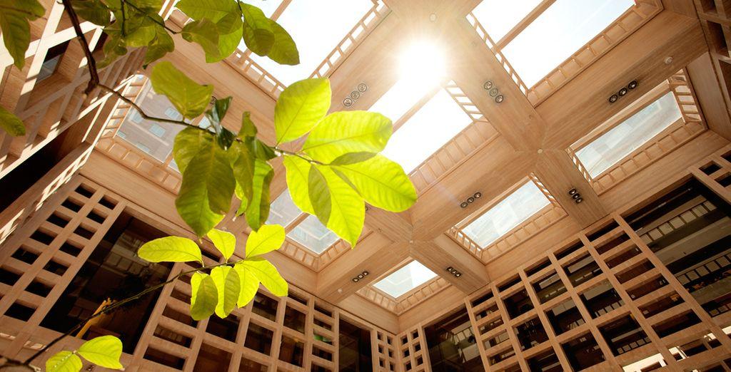 El renombrado diseñador español Pascua Ortega ha convertido el hotel en un espacio exquisito