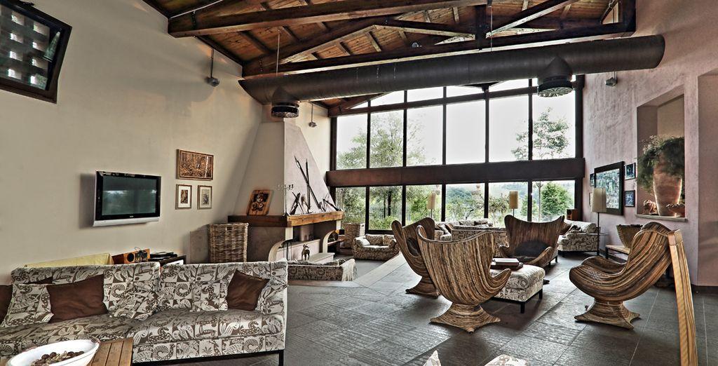 La encantadora Villa I Laghi le acogerá durante su estancia en la Toscana