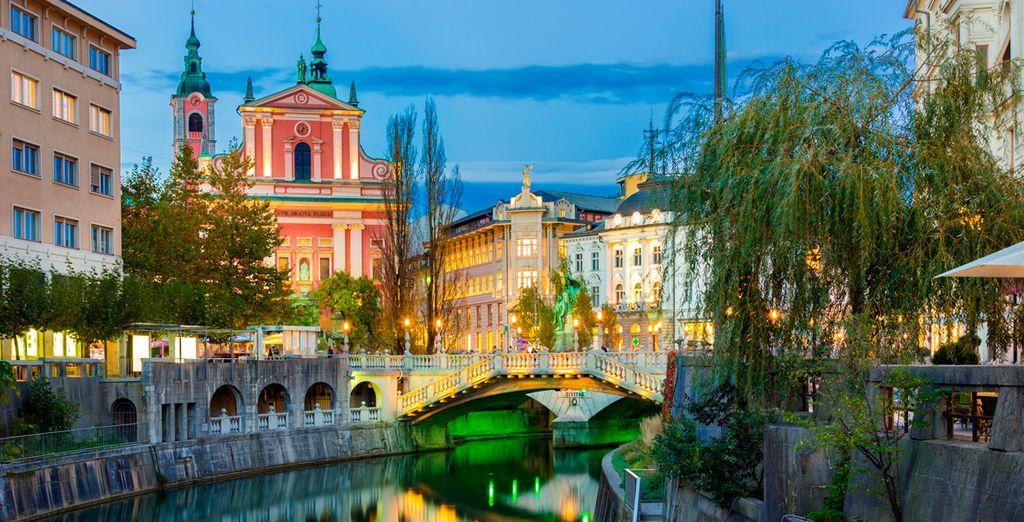 Opcionalmente podrá visitar Liubliana, capital de Eslovenia