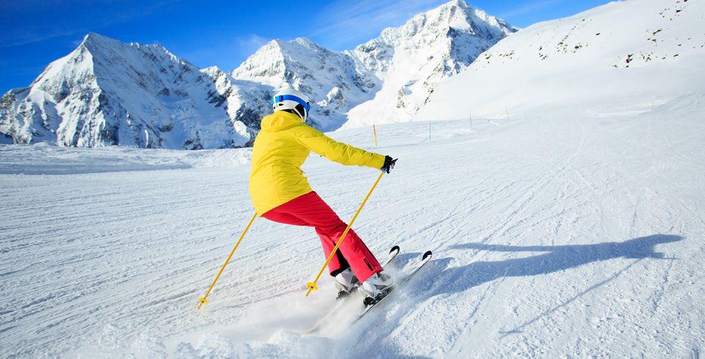 Disfrute del esquí en unas inmejorables instalaciones