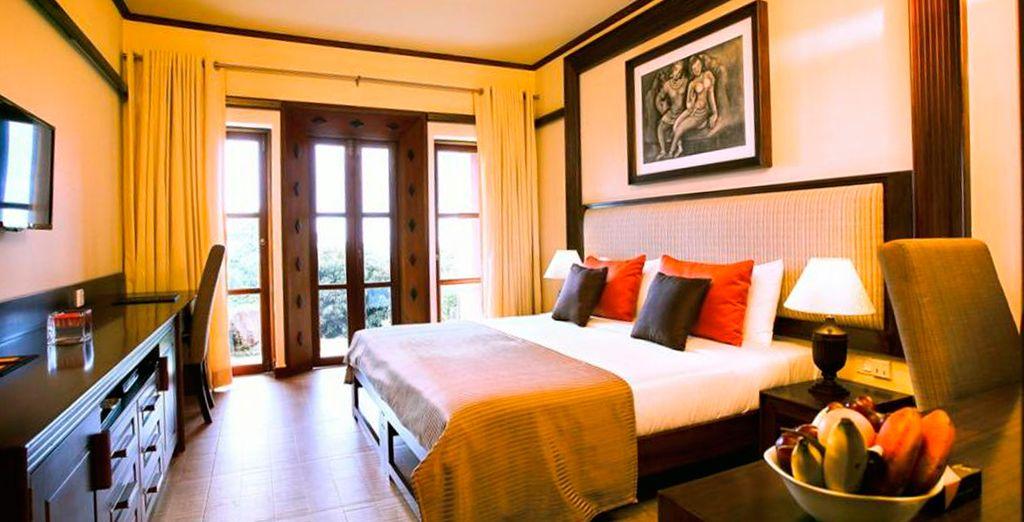 Disfrute de su romántica habitación Superior