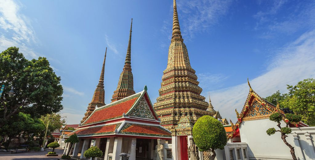 Visitará Wat Po temple, Bangkok