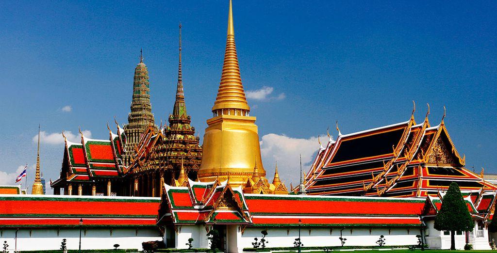 Visite el templo Wat Phra Keo