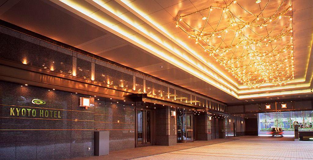 O en el Kyoto Hotel Okura 5*