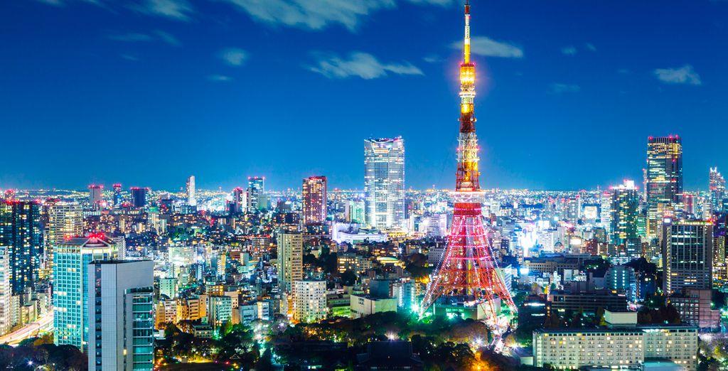 Disfrute de una mañana por la ciudad, para hacer las últimas compras y despedirnos de la capital de Japón