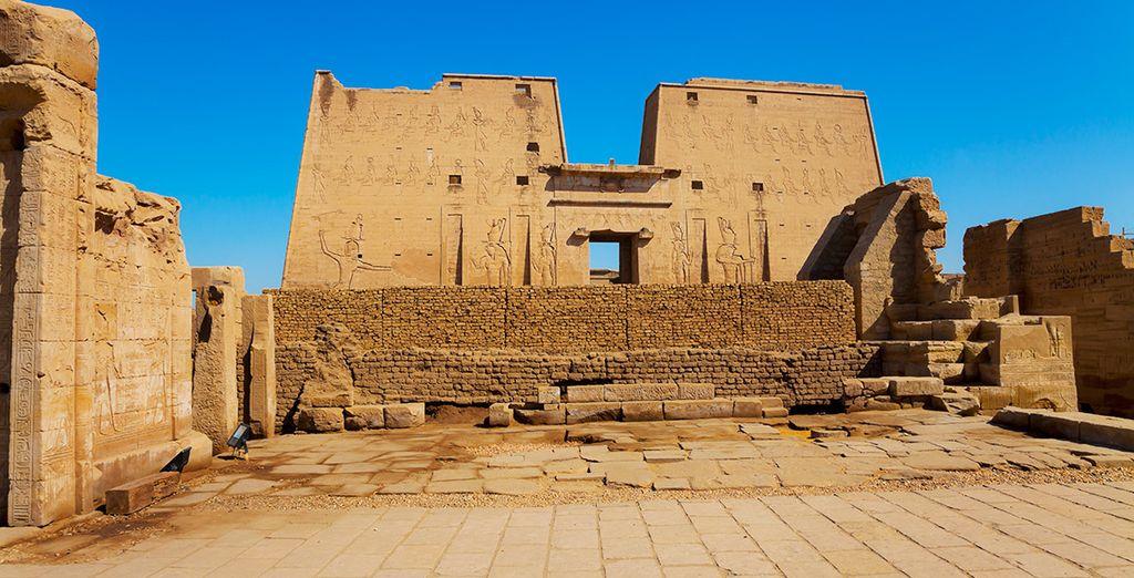 Visitará el Templo de Horus en Edfu