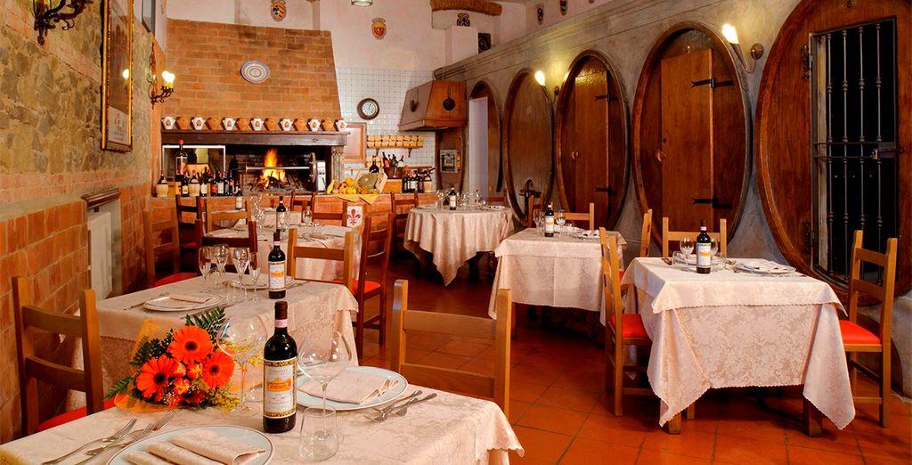 Podrá degustar la mejor gastronomía italiana