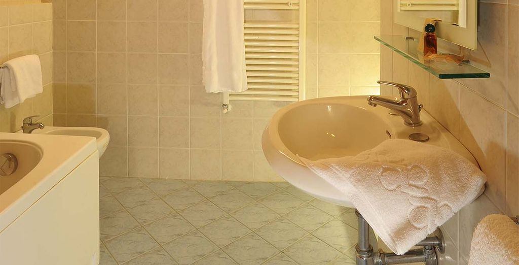 Y totalmente equipada, con baño completo