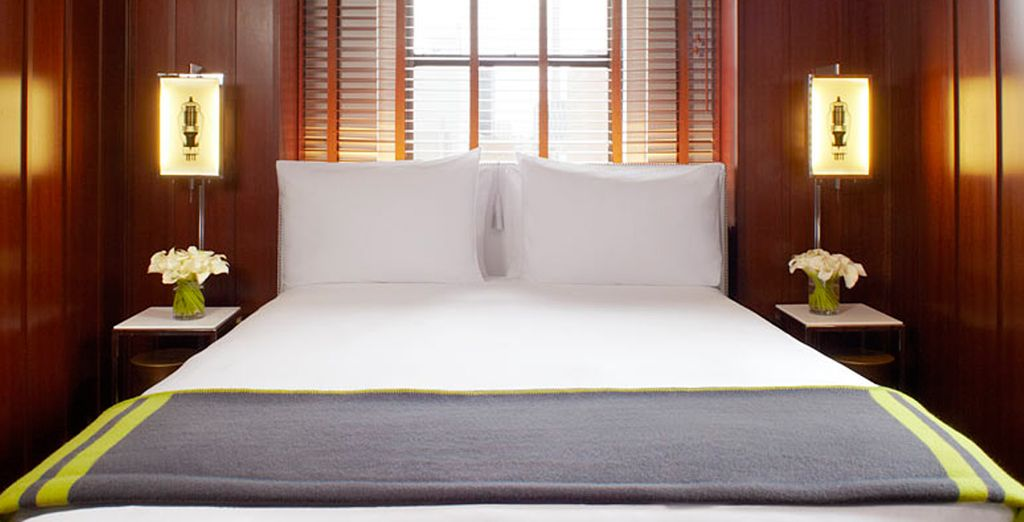 Descanse cómodamente en su habitación Superior...