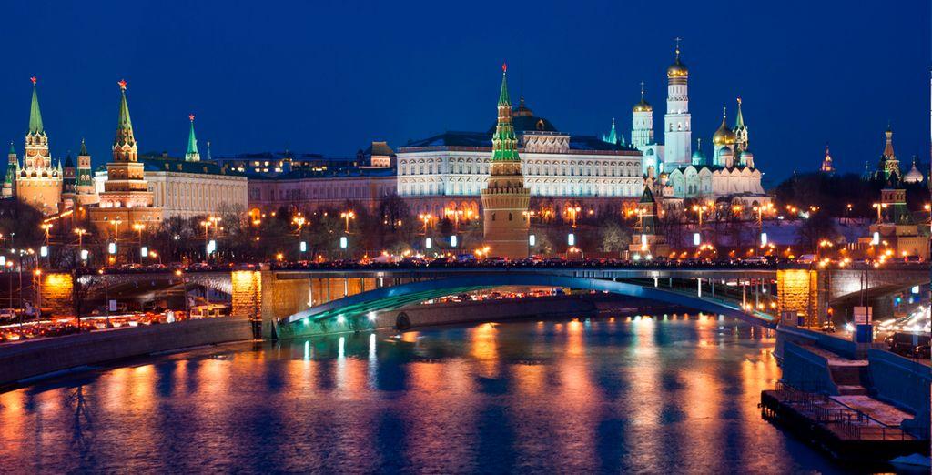En este circuito de Oro, su primera parada será la capital, Moscú