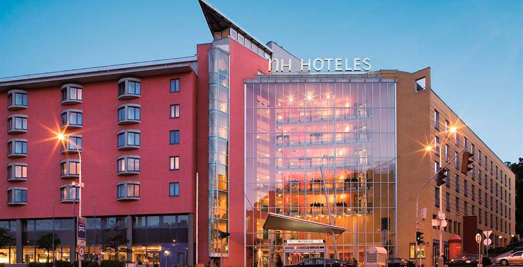 Una de las opciones de alojamiento en Praga es el hotel NH Prague City 4*