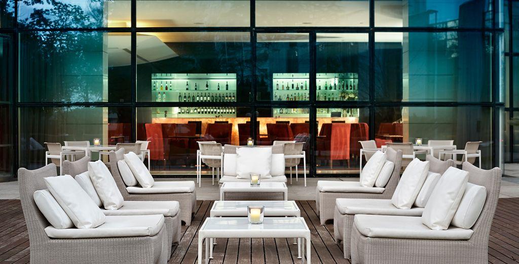 El lounge del bar New Yorker para continuar su copa