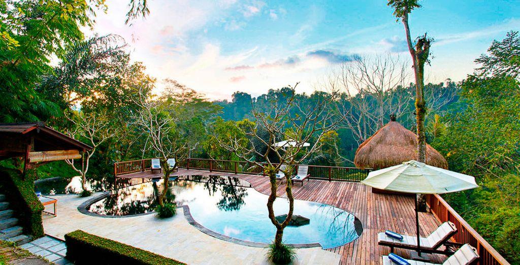Bienvenido a Nandini Jungle Resort & Spa Bali 4*