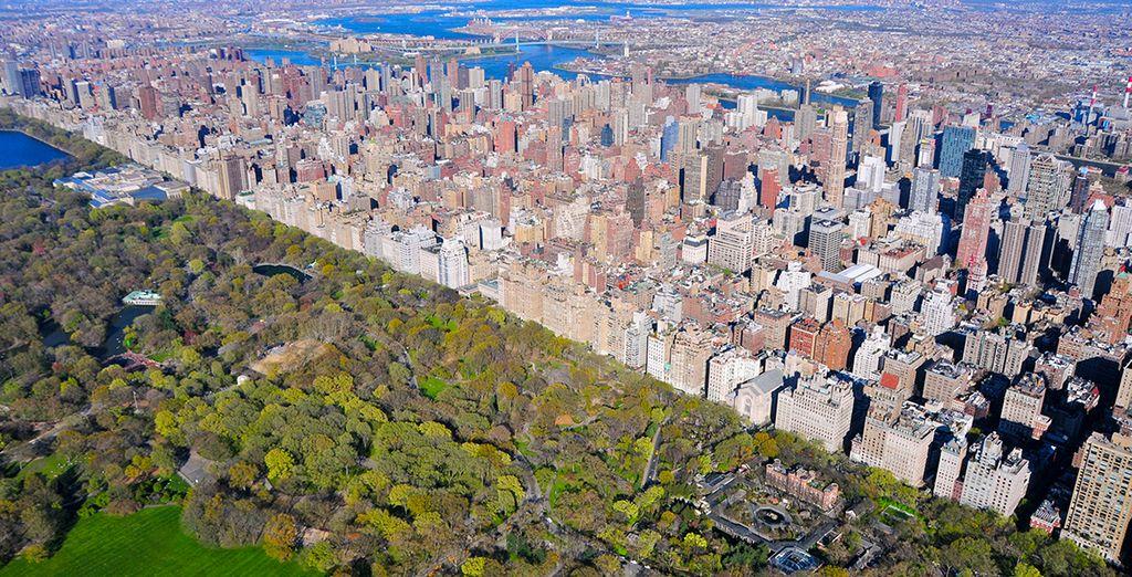Después de una noche en la ciudad, entre el Empire State Building y Broadway ...