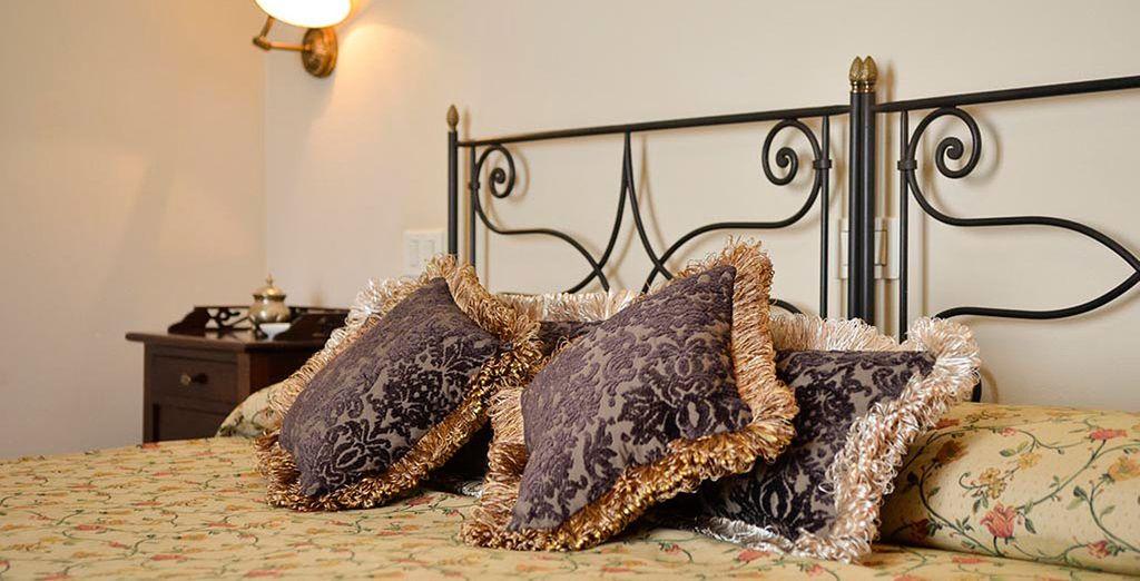 Disfrutará de la comodidad de tan extraordinario hospedaje