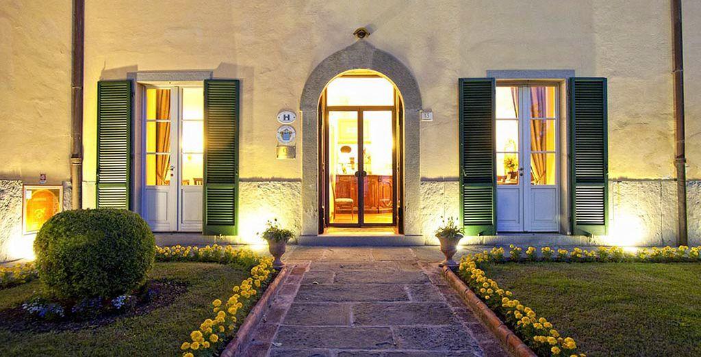 Hotel Villa Marsili 4* le ofrece una estancia en un entorno risueño